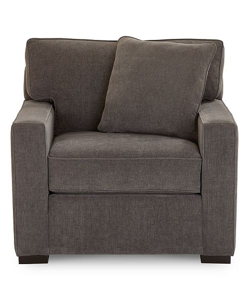 Strange Radley 38 Fabric Armchair Created For Macys Theyellowbook Wood Chair Design Ideas Theyellowbookinfo