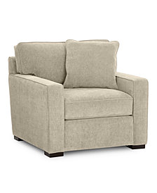 "Radley 38"" Fabric Armchair, Created for Macy's"