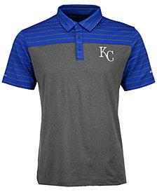 Columbia Men's Kansas City Royals Omni-Wick Groove Polo