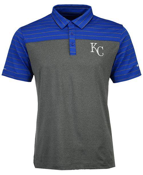Men's Kansas City Royals Omni-Wick Groove Polo