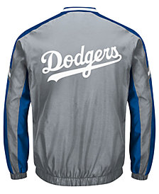 G-III Sports Men's Los Angeles Dodgers Draft Pick V-Neck Pullover