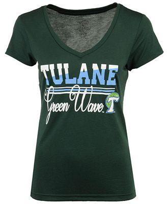 Colosseum Women's Tulane Green Wave PowerPlay T-Shirt