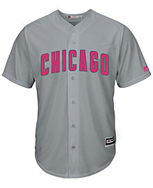 Majestic Men's Chicago Cubs Mothers Day Cool Base Jersey