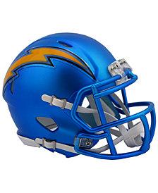 Riddell Los Angeles Chargers Speed Blaze Alternate Mini Helmet