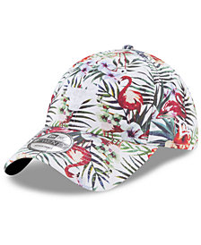 New Era Chicago Bulls Drop Trop 9TWENTY Strapback Dad Cap