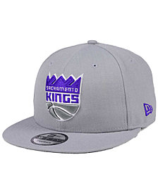 New Era Sacramento Kings Gray Pop 9FIFTY Snapback Cap