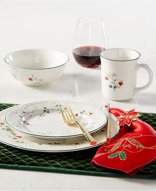 Pfaltzgraff Winterberry Dinnerware Collection