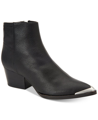 Calvin Klein Women's Narice Varnished Boots