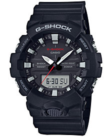 G-Shock Men's Analog-Digital Black Resin Strap Watch 49mm
