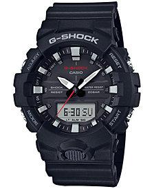 G-Shock Men's Analog-Digital Black Resin Strap Watch 49mm