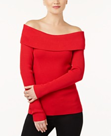 Off The Shoulder Sweaters: Shop Off The Shoulder Sweaters - Macy's