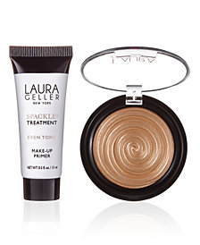 Receive a Free Gilded honey and Even tone primer with $40 Laura Geller purchase!