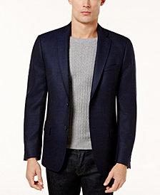 Calvin Klein Men's Slim-Fit Navy Birdseye Soft Jacket