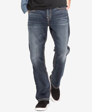 Silver Jeans Co. Men's Grayson Easy Fit Straight Jeans 4804319