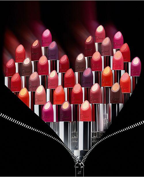 Dior Double Rouge Matte Metal Lipstick Makeup Beauty