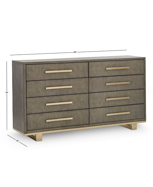 Petra 8 Drawer Dresser