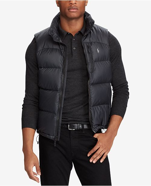 a131cde7a758f9 ... Down Vest  Polo Ralph Lauren Men s Big   Tall Quilted Ripstop ...