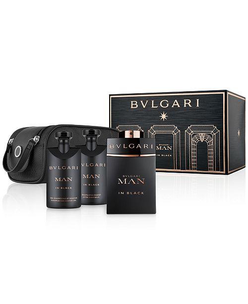 BVLGARI Men's 4-Pc. Man In Black Gift Set