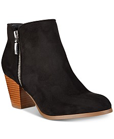 Style Co Jamila Zip Booties Created For Macy S
