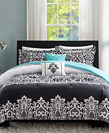 Intelligent Design Leona 5-Pc. Reversible Full/Queen Comforter Set
