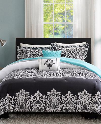 Intelligent Design Leona 5-Pc. Reversible Comforter Sets