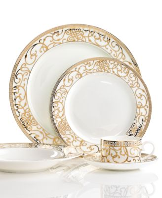 Athena Gold 5 Piece Place Setting