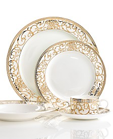 Darbie Angell Athena Gold 5 Piece Place Setting
