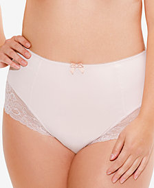 Sculptresse by Panache Sasha Lace-Trim Microfiber Brief 9502