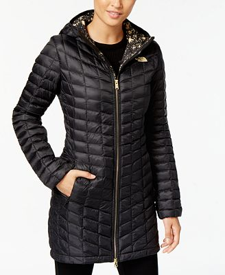 The North Face Thermoball Quilted Hooded Puffer Coat