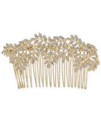 I.N.C. Gold-Tone Pavé Vine Hair Comb, Created for Macy's