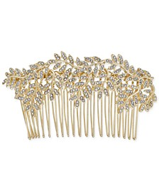 INC Gold-Tone Pavé Vine Hair Comb, Created for Macy's