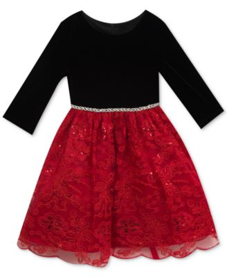 Girls Christmas Dresses: Shop Girls Christmas Dresses - Macy's