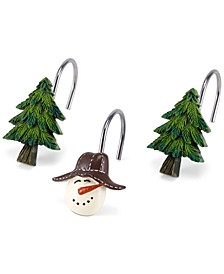 CLOSEOUT! Snowman Gathering Shower Hooks