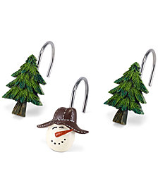 Avanti Snowman Gathering Shower Hooks