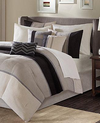 Madison Park Palisades 7 Pc Comforter Sets Bed In A Bag