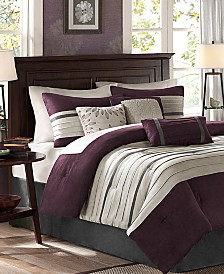 Madison Park Palmer Microsuede 7-Pc. Comforter Sets