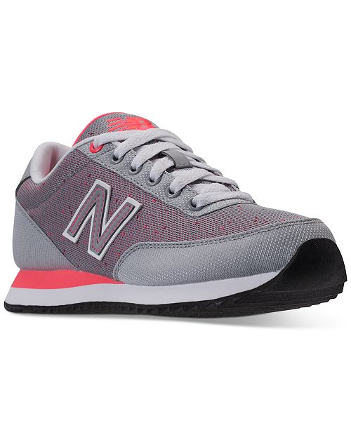 New Balance Women's 501 Ripple Textile Casual Sneakers from Finish Line ZUwQzQ