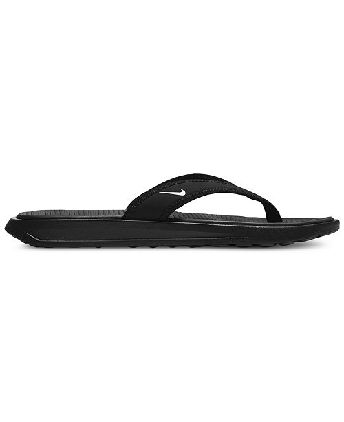 Nike Women's Ultra Comfort Print Thong Flip Flop Sandals from Finish Line jfTY0F