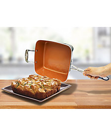 "Gotham Steel 4-Pc. 9.5"" Deep Square Pan Set"