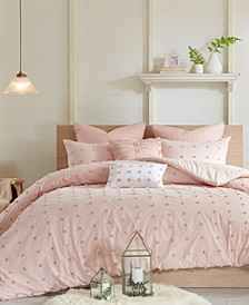 Brooklyn Cotton 7-Pc. Full/Queen Comforter Set