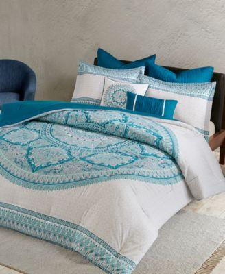 Coletta Cotton 7-Pc. Full/Queen Comforter Set