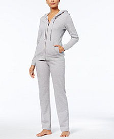 UGG® Clara Solid Hooded Sweatshirt & Sweatpants Sleep Separates