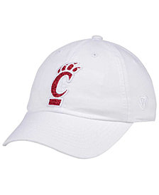 Top of the World Women's Cincinnati Bearcats White Glimmer Cap