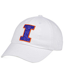 Top of the World Women's Illinois Fighting Illini White Glimmer Cap