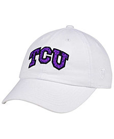 Top of the World Women's TCU Horned Frogs White Glimmer Cap
