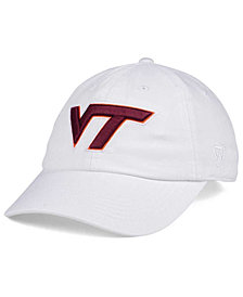 Top of the World Women's Virginia Tech Hokies White Glimmer Cap