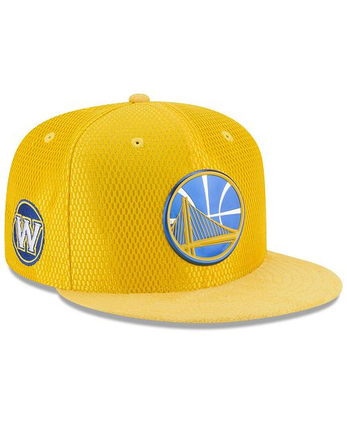 fa9f2afddad ... New Era Golden State Warriors On Court Reverse 9FIFTY Snapback Cap ...