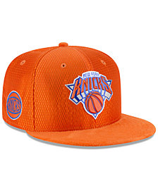 New Era New York Knicks On Court Reverse 9FIFTY Snapback Cap