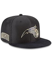 New Era Orlando Magic On-Court Black Gold Collection 9FIFTY Snapback Cap