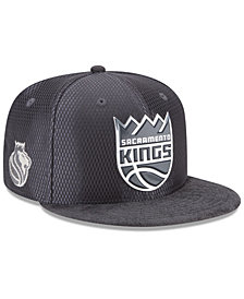 New Era Sacramento Kings On-Court Graphite Collection 9FIFTY Snapback Cap